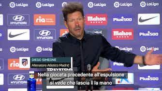 """Anteprima immagine per  Simeone e il rosso a Felix in un minuto: """"Non mi interessa. Era entrato bene"""""""