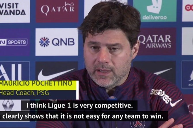 Ligue 1 'not easy for any team', says Poch after Lille slip-up