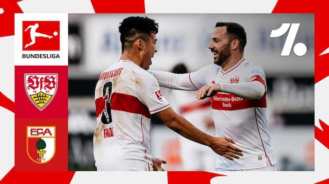 Kalajdzic comanda o Stuttgart na vitória sobre o Augsburg