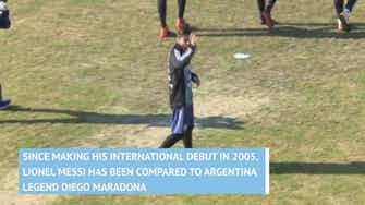 Preview image for Maradona and Messi - Argentina Icons