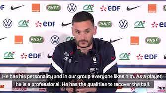 Preview image for 'A key player for France' - Lloris on Kanté