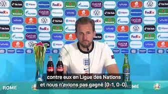"""Image d'aperçu pour Quarts - Kane déjà tourné vers le Danemark : """"Si nous jouons notre football..."""""""