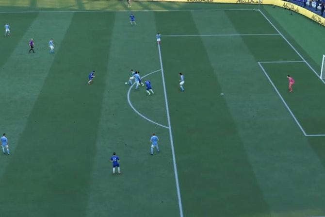 Kanté gâche la balle de match contre City (FIFA)