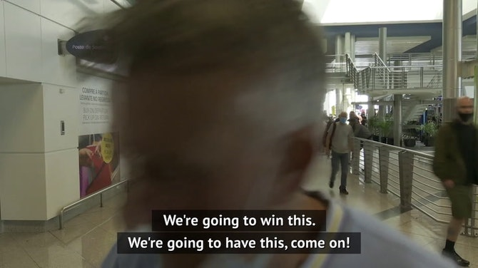 'We'll batter them!' - Man City and Chelsea fans arrive for UCL final