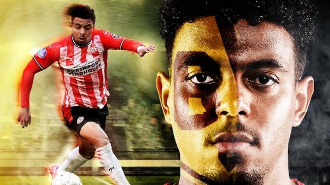 Vorschaubild für Made in the Eredivisie: Donyell Malen - Tore & Assists 2020/21   PSV Eindhoven   Borussia Dortmund