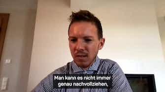 """Vorschaubild für Nagelsmann über Covid-Diagnose: """"War erschrocken"""""""
