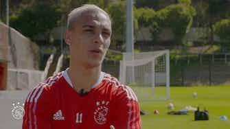 """Imagem de visualização para Antony exalta momento e projeta evolução na Champions: """"levar o Ajax longe"""""""