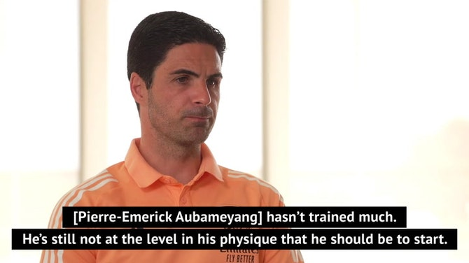 Arteta gives Aubameyang and Willock update ahead of trip to Newcastle