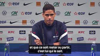 """Image d'aperçu pour  France - Varane : """"Son avenir ? Mbappé sait ce qu'il veut"""""""