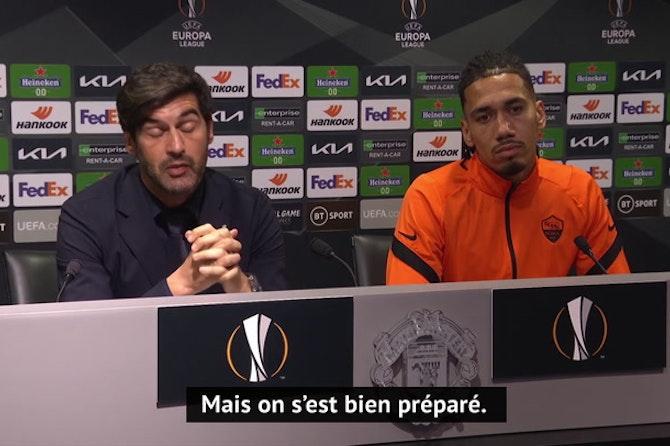 """Demies - Fonseca : """"Un immense respect pour Manchester United"""""""