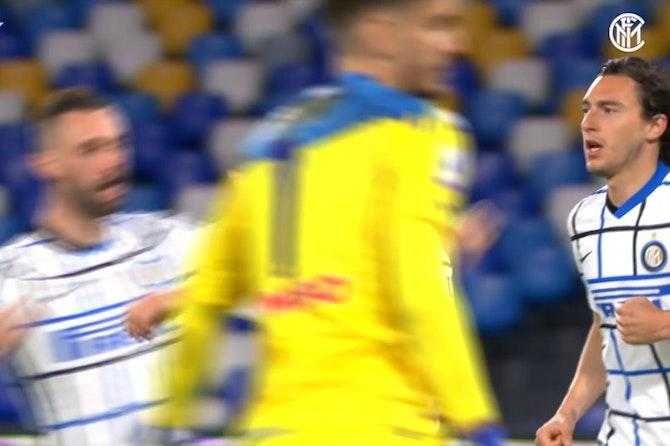 Focus on: Eriksen vs Napoli