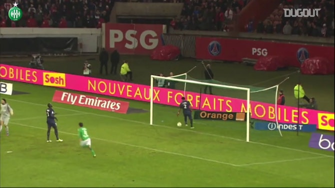 Imagem de visualização para Top cinco gols do Saint-Etienne contra o Paris Saint-Germain