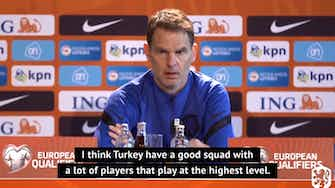 Preview image for De Boer wary of Turkish threats