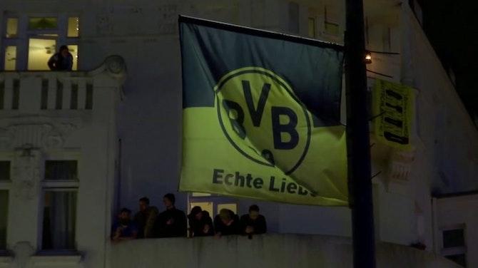 Finale - Des supporters du BVB célèbrent le titre