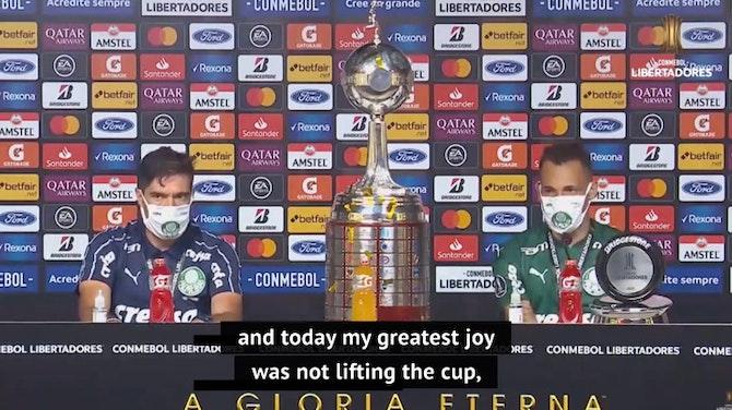 Preview image for Palmeiras bask in 'dream' Libertadores triumph
