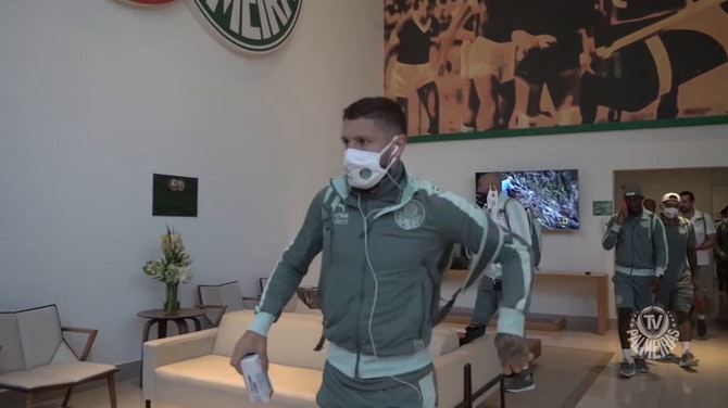 Preview image for Behind the scenes of Palmeiras' victory vs Fluminense