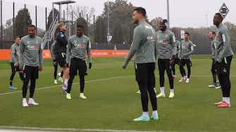 Preview image for Marcus Thuram returns to Gladbach's team training