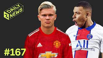 Preview image for PSG name HUGE Mbappe transfer price! + Haaland is Man United priority!