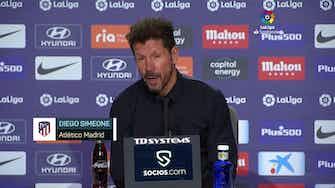 """Imagen de vista previa para Simeone sobre el futuro de Saúl: """"De acá al martes puede pasar cualquier cosa"""""""