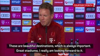 Preview image for Nagelsmann 'slept very good' after Champions League draw
