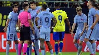 Vorschaubild für Barça enttäuscht erneut: Nur 0:0 in Cadiz
