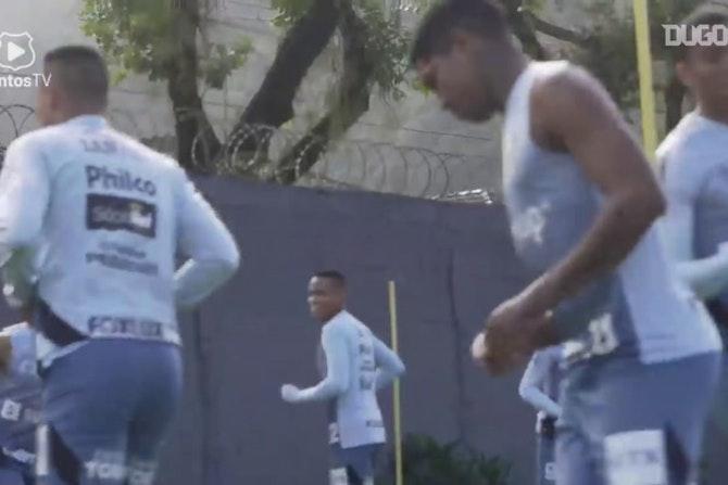 Santos inicia preparação para duelo contra o The Strongest