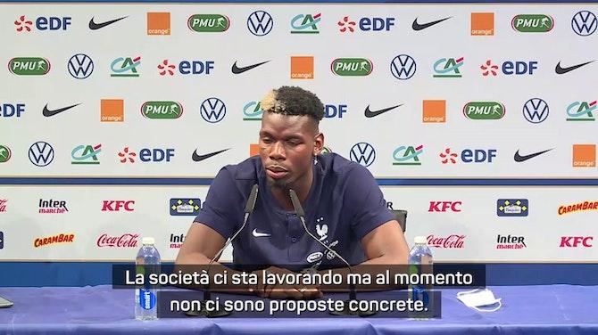 """Pogba sul futuro: """"Penso all'Europeo, per il resto c'è Raiola"""""""