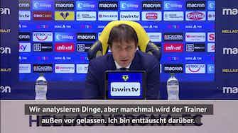 """Vorschaubild für Conte ist """"enttäuscht"""" über Eriksen-Situation"""