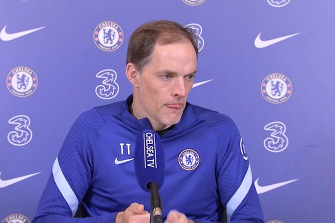 Thomas Tuchel full press conference ahead of Manchester City v Chelsea in the Premier League