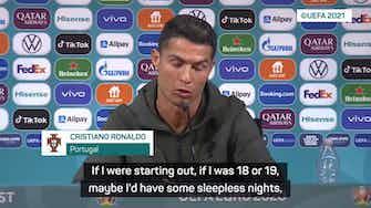 Preview image for Ronaldo responds to transfer rumours