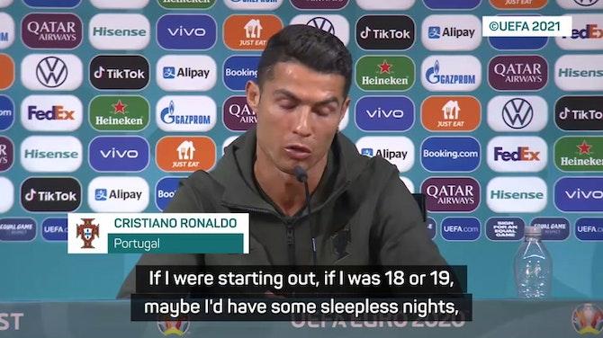 Ronaldo responds to transfer rumours