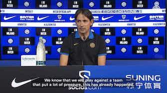 Vorschaubild für Inzaghi ahead of the match against Lazio
