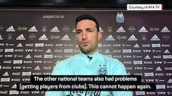 Preview image for Argentina coach blasts Premier League for withholding CONMEBOL players