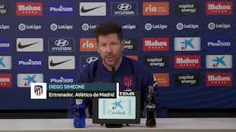 """Imagen de vista previa para Simeone: """"Este no es un juego de nombres sino de hombres"""""""