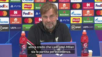 """Anteprima immagine per Klopp: """"Un Milan forte. Ibra out? C'è Giroud..."""""""