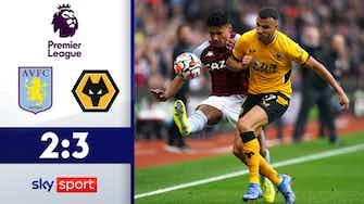 Vorschaubild für Drama in der Schlussphase   Aston Villa - Wolverhampton Wanderers 2:3   Highlights