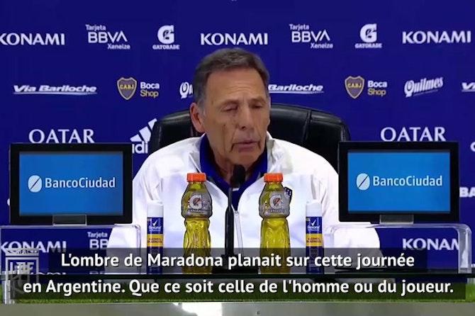 """Maradona - Russo : """"L'ombre de Diego planait sur cette journée"""""""