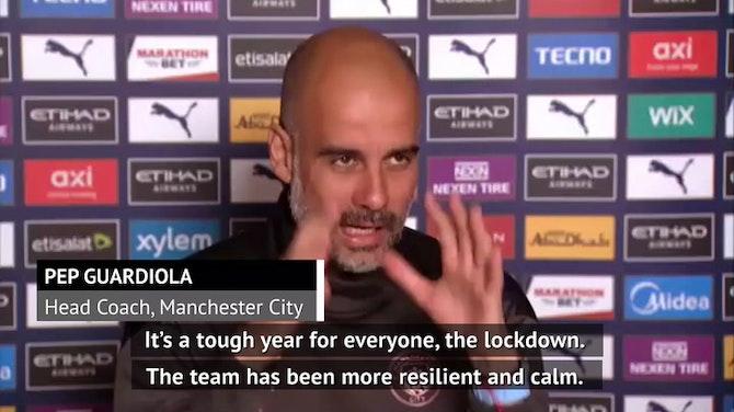 Lockdown makes City achievements more special - Guardiola