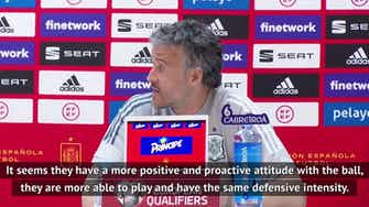 Preview image for We are no longer used to playing with fans - Luis Enrique