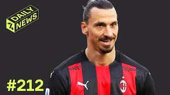 Vorschaubild für Ibrahimovic bleibt in Mailand! Barca bleibt in der Super League!