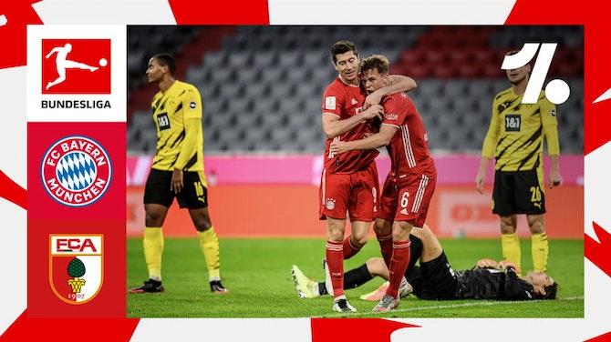 Imagem de visualização para Veja os lances de FC Bayern München vs. FC Augsburg | 05/22/2021