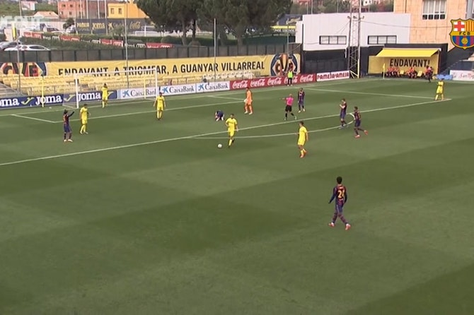 Highlights: Villarreal B 3-4 Barça B