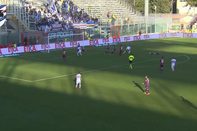 I migliori gol della Sampdoria contro il Crotone