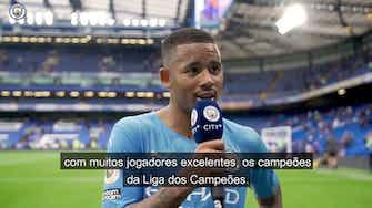 Imagem de visualização para Decisivo, Gabriel Jesus exalta vitória do Manchester City sobre o Chelsea