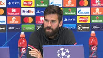 Preview image for Alisson: Liverpool's goal is to regain Champions League title