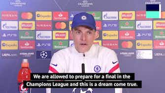 Preview image for Tuchel wants Chelsea camp to be 'full of joy' in build-up to final