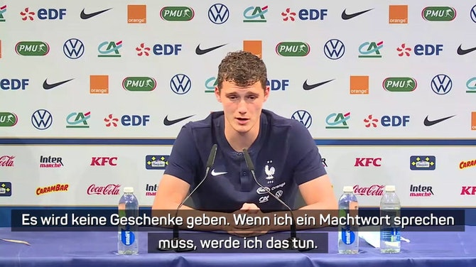"""Pavard: """"Eine sehr gute deutsche Mannschaft"""""""