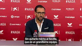 """Imagen de vista previa para Bordalás: """"El tercer gol ha sido de risa"""""""