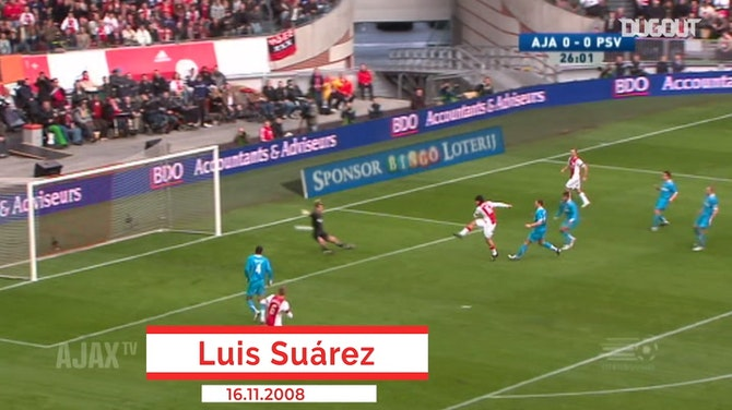 Preview image for Ajax's top five goals against PSV Eindhoven