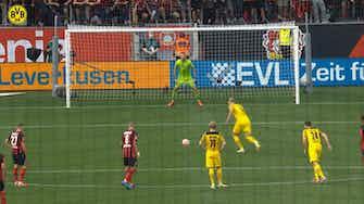 Imagen de vista previa para El decisivo gol de penalti de Haaland ante el Leverkusen